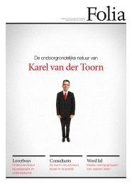 Karel van der Toorn - Folia Web