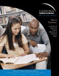 Paths to Persistence - Lumina Foundation