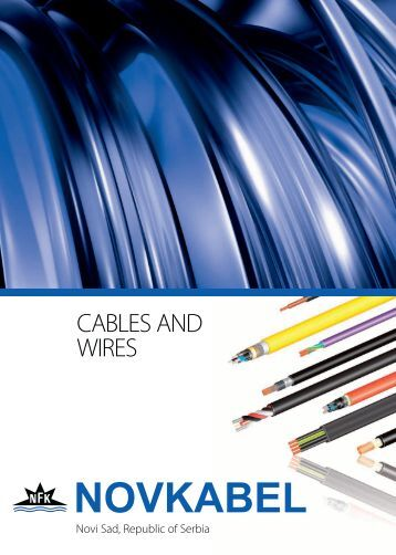 CABLES AND WIRES - Novkabel