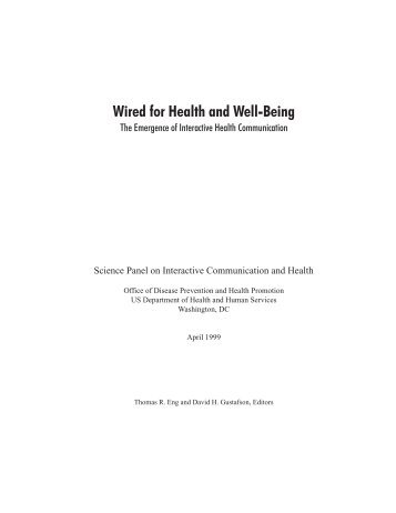 Wired for Health and Well-Being - Dronet
