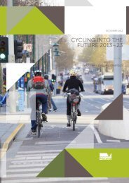 cycling into the future 2013–23 - Department of Transport