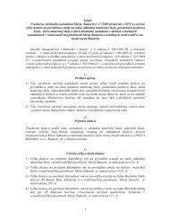 1 Návrh Všeobecne záväzného nariadenia Mesta ... - Mesto Šamorín