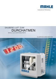 DURCHATMEN - MAHLE Industry - Filtration