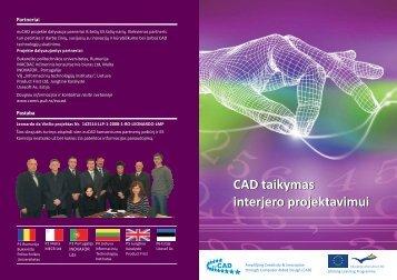 CAD taikymas interjero projektavimui