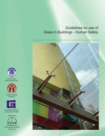 Guidelines on use of Glass in Buildings - Human Safety - CCPS