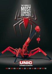 UNIC Mini Crawler Cranes Brochure - AEC Online