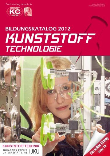 BILDUNGSKATALOG 2012 - Kunststoffstandort Oberösterreich