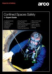 Confined Spaces Safety - Arco