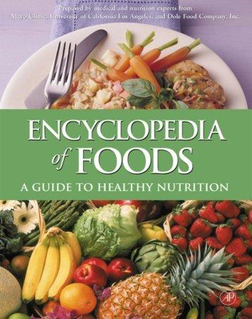 Encyclopedia Of Foods