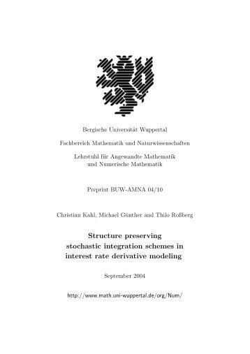 Kahl - Bergische Universität Wuppertal