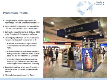 Mediadaten Promotion Points, PDF - Media Frankfurt