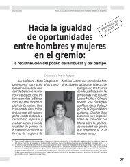 Hacia la igualdad de oportunidades entre ... - Revista Docencia