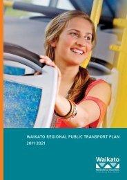 Waikato Regional Public tRansPoRt Plan 2011-2021