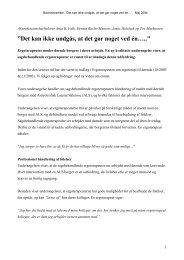 [pdf] Det kan ikke undgås, at det gør - Ergoterapeutforeningen