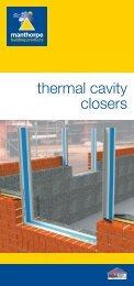 Thermal Cavity Closer: Literature