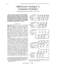 SRM inverter topologies - Slobodan N. Vukosavic