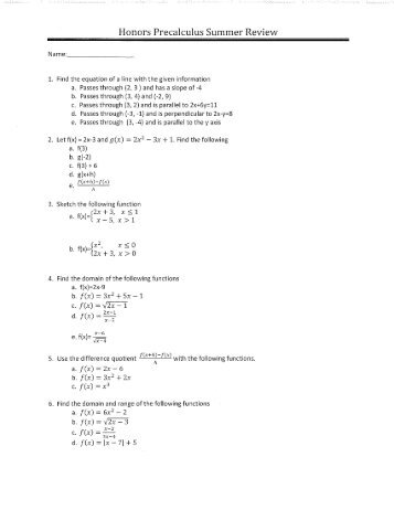 MT-141 Precalculus - Worksheet 6.4(b) 10th - 11th Grade Worksheet ...