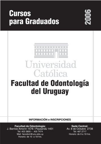 librillo 2006.pmd - Universidad Católica del Uruguay