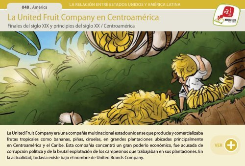 La United Fruit Company en Centroamérica - Manosanta