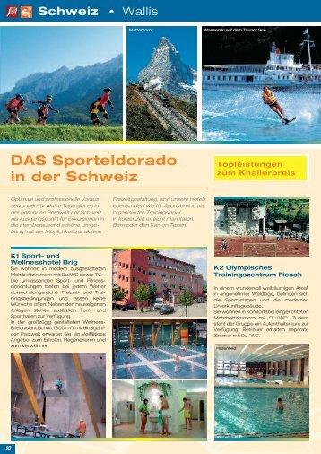 DAS Sporteldorado in der Schweiz - Die Schulfahrt