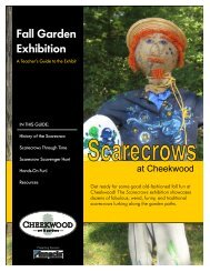 Fall Garden Exhibition - Cheekwood Botanical Garden and Museum ...