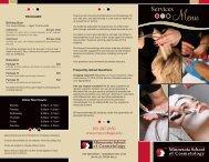 Services - Minnesota School of Cosmetology
