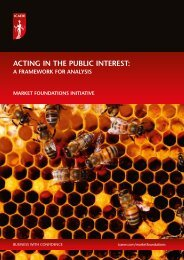 Acting in the public interest – a framework for analysis - ICAEW