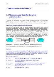 2 Nachricht und Information