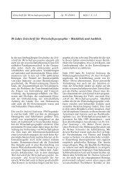 50 Jahre Zeitschrift für Wirtschaftsgeographie – Rückblick und ...