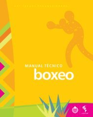 Manual Técnico (Español) - sistema de resultados - XVI Juegos ...
