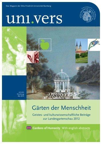 Gärten der Menschheit - Universität Bamberg