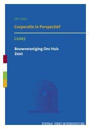 L1045 Corporatie In Perspectief Samenvatting 2012