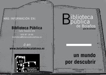 iblioteca pública - web antigua
