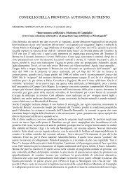 Leggi mozione approvata - Roberto Bombarda