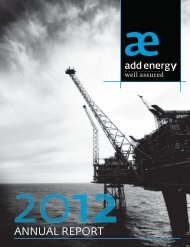 ANNUAL REPORT - Add Energy