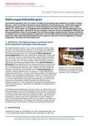 Nahrungsmittelallergien - Helmholtz Zentrum München