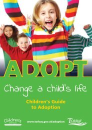 Child's Guide to Adoption - Torbay Council