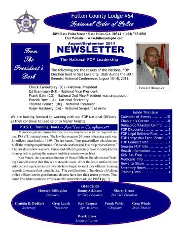 FOP-Newsletter-Augus.. - Fraternal Order of Police