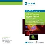 functional genomics and proteomics - NGFN