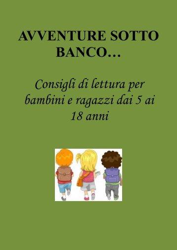 AVVENTURE SOTTO BANCO… - Biblioteca Comunale di Copparo