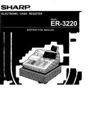 SHARP ER-3220 Operators manual.pdf - Parklandbm.com