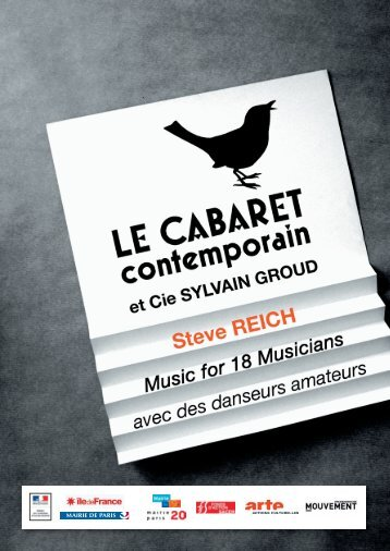 Music for 18 Musicians - Cabaret Contemporain