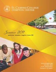 Summer 2011 - El Camino College Compton Center