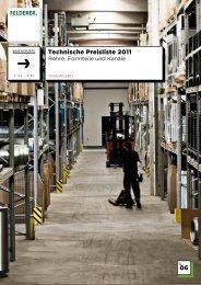 06 Technische Preisliste 2011 - Felderer