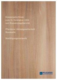Untitled - Pfleiderer AG