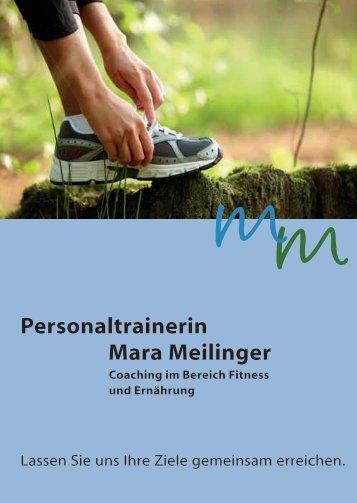 Personaltrainerin Mara Meilinger - ib-mediendesign