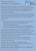 Personaltrainerin Mara Meilinger - ib-mediendesign - Page 2