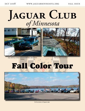 Fall Quarter Newsletter - Jaguar Club of MN