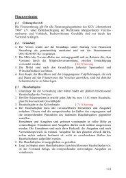Finanzordnung - KGV-Herrenhorst1988e.V.