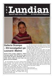 Galleria Ocampo – Ett konstgalleri på Leonard i Malmö - TheLundian